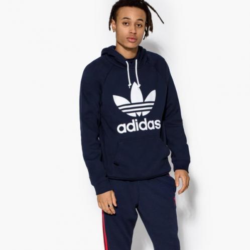 Adidas Mikina Trefoil Hoody Muži Oblečení Mikiny Br4849