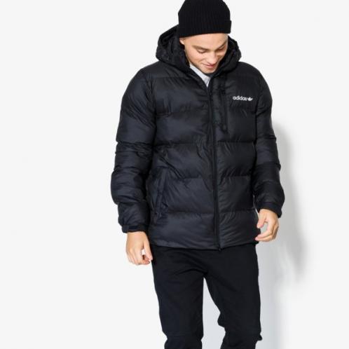 Adidas Bunda Hooded Jkt Muži Oblečení Zimní Bundy Br4785
