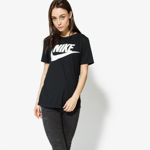 Nike Tričko Ss W Nsw Essntl Tee Hbr ženy Oblečení Trička 829747-010