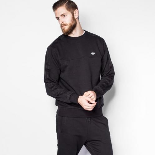 Adidas Mikina Classic Trfl Cr Muži Oblečení Mikiny Az1131
