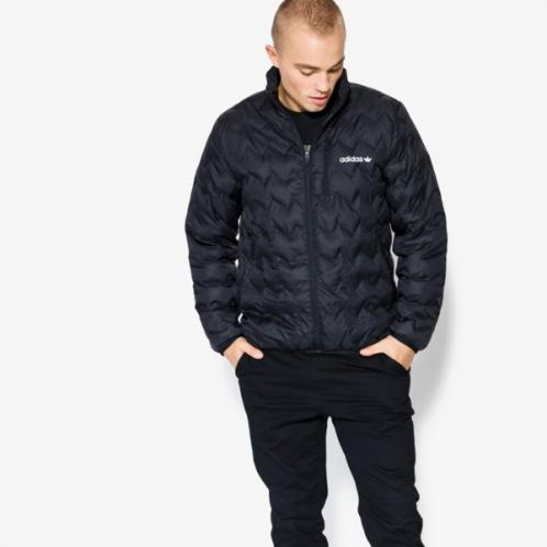 Adidas Bunda Serrated Jacket Muži Oblečení Podzimní Bundy Br4774