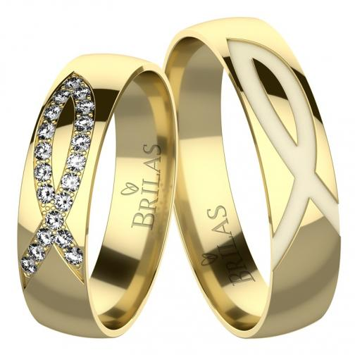 Alfa Gold - snubní prsteny ze žlutého zlata
