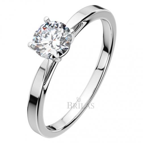 Grácie W Briliant  - jemný zásnubní prsten