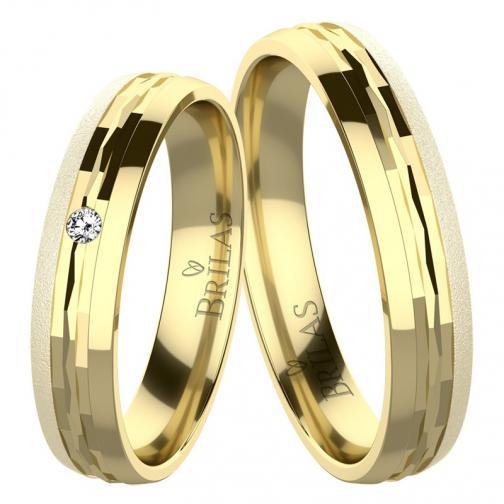 Renato Gold - snubní prsteny ze žlutého zlata