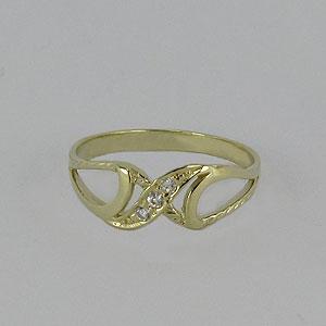 Zlatý prsten Z70-040