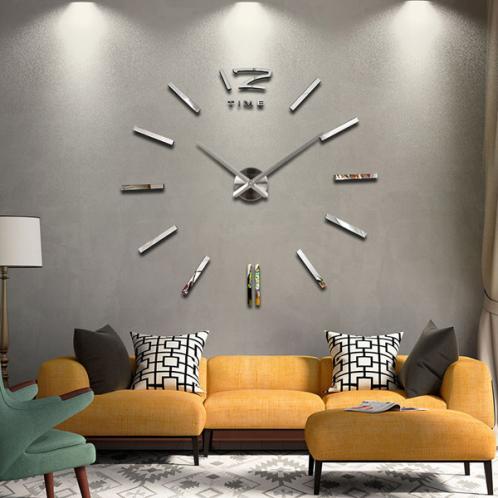3D Nalepovací nástěnné hodiny - 12S003-S