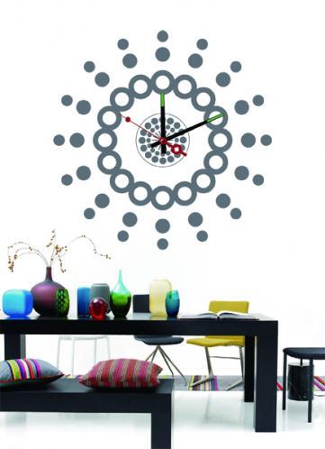 Nalepovací nástěnné hodiny - 10A249