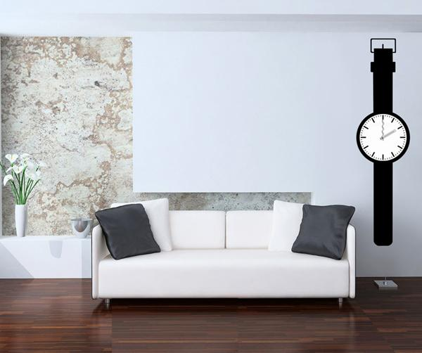 Nalepovací nástěnné hodiny - 25A016