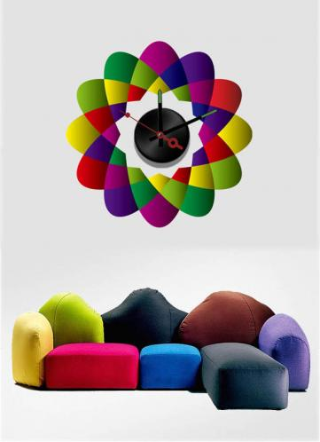Nalepovací nástěnné hodiny -  Flubber - 10A020