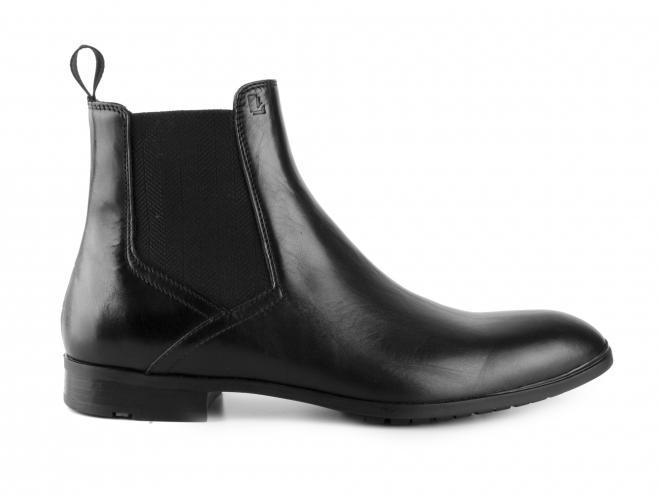 Lloyd - Luxusní kotníkové boty s pérky bez zdobení ETAN