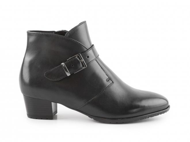 Ara - Dámské kotníkové boty na podpatku šíře G 12-42123-72