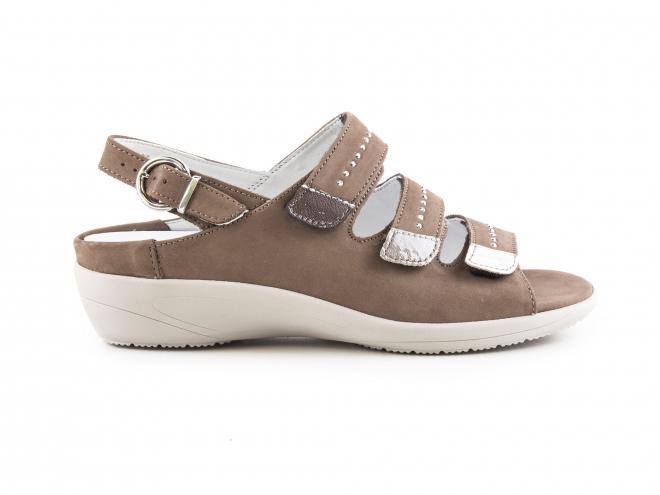 Ara - Dámské nazouváky/sandály s nastavitelnými pásky šíře K 12-37525-09
