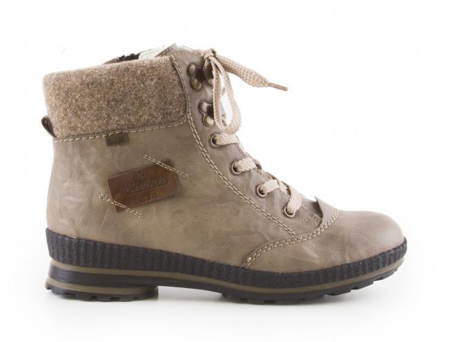 b4688b9bef1b Rieker - Dámské zimní kotníkové boty se zipem