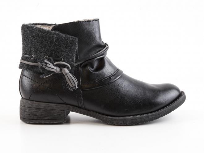 Jana - Dámské zateplené kotníkové boty šíře H 8-25464-29
