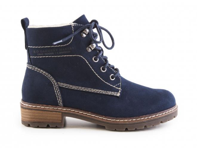 Oliver - Dámské zateplené kotníkové boty se šněrováním 5-26212-29 e5c5897a4a