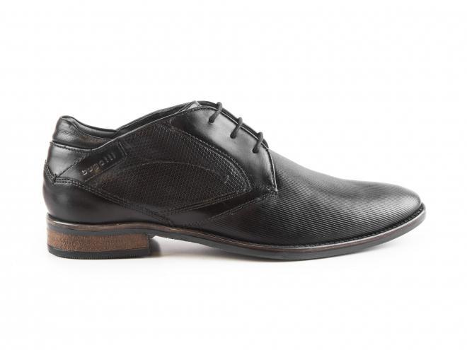 Bugatti - Pánské módní boty ke kotníku se vzorkem 311-16430-2500