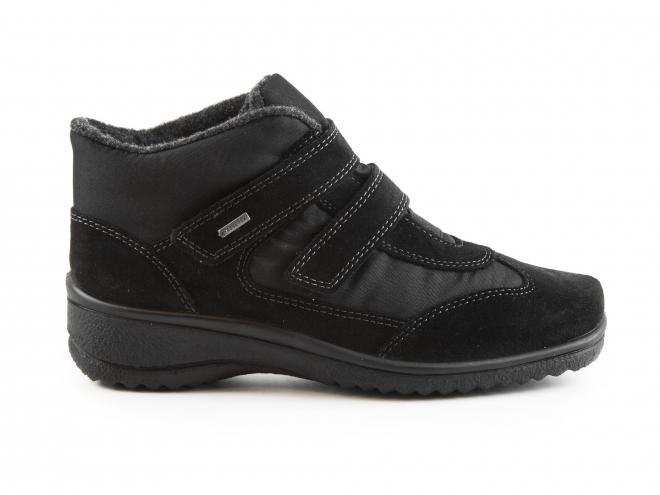 Ara - Dámské kotníkové boty s pásky na suchý zip a TEXovou membránou šíře H 12-48518-61
