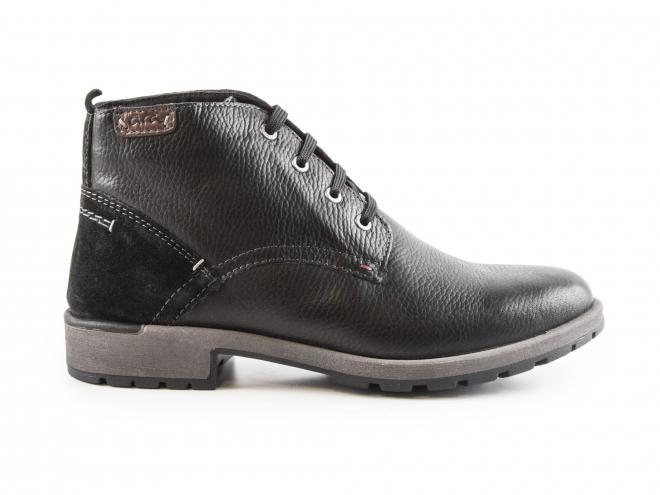Ara - Pánské kožené kotníkové boty se šněrováním a zateplením 11-16402-01