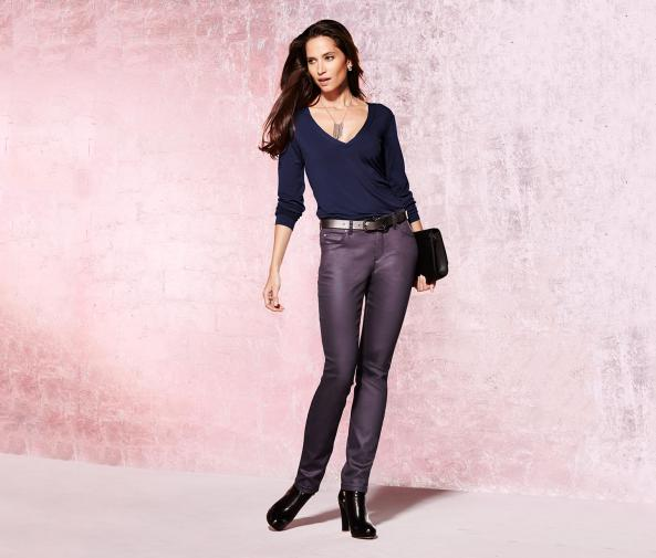 Povrstvené džíny Slim Fit
