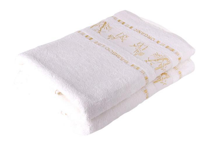 Bamboo LIFE Bambusový ručník nadměrná 70x90 Bílý