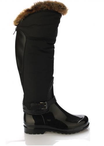 Černé italské vyšší holiny s hnědým kožíškem M&G 41