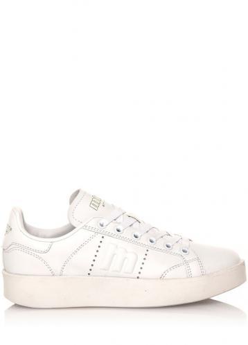 Bílé tenisky s bílou podrážkou MTNG 41