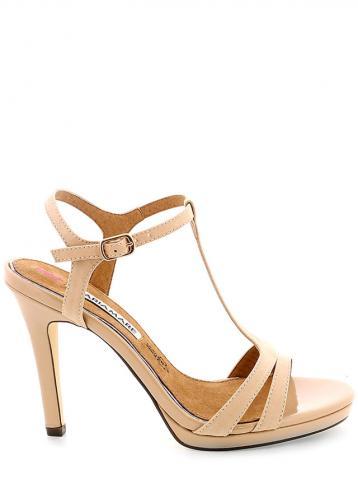 Béžové páskové sandály MARIA MARE 41