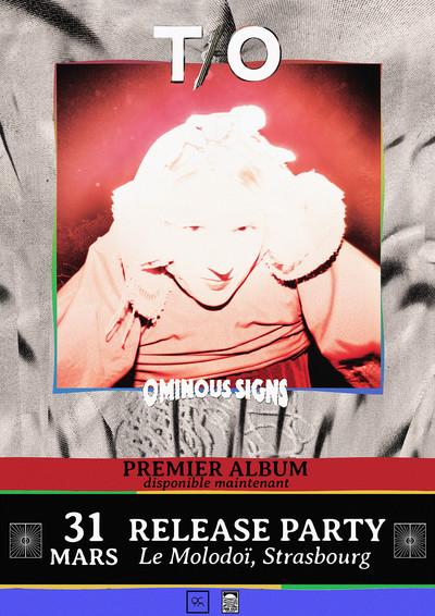 T/O RELEASE PARTY + BRYAN'S MAGIC TEARS + THE BAD PELICANS + IL EST VILAINE + ROSS HESELTON