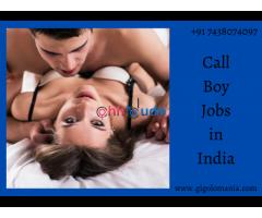 We hiring for call boy job in Mumbai, Delhi and Bangalore