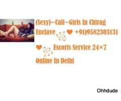 Call Girls In Dhaula KuanEnclave II꧁❤ +91)9582303131❤꧂Escorts Service 24x7 Online Booking In Delhi