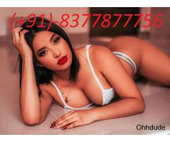Quality Sexy~Call~Girls In Dwarka꧁❤ +91)8377877756❤꧂Escorts Service 24×7 Online open