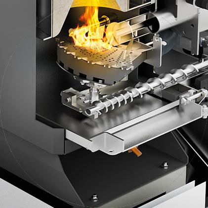 Enlèvement automatique des cendres