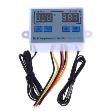 Digitálny termostat 220v 2 čidlový
