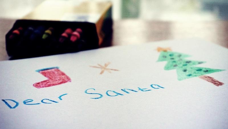 La lettre au père noel