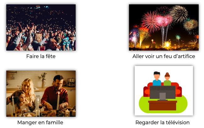 Les différentes manières de fêter le Nouvel An