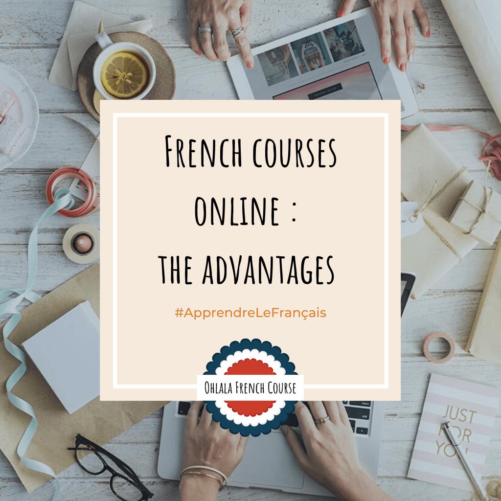 Image Pinterest Online French Courses: the advantages