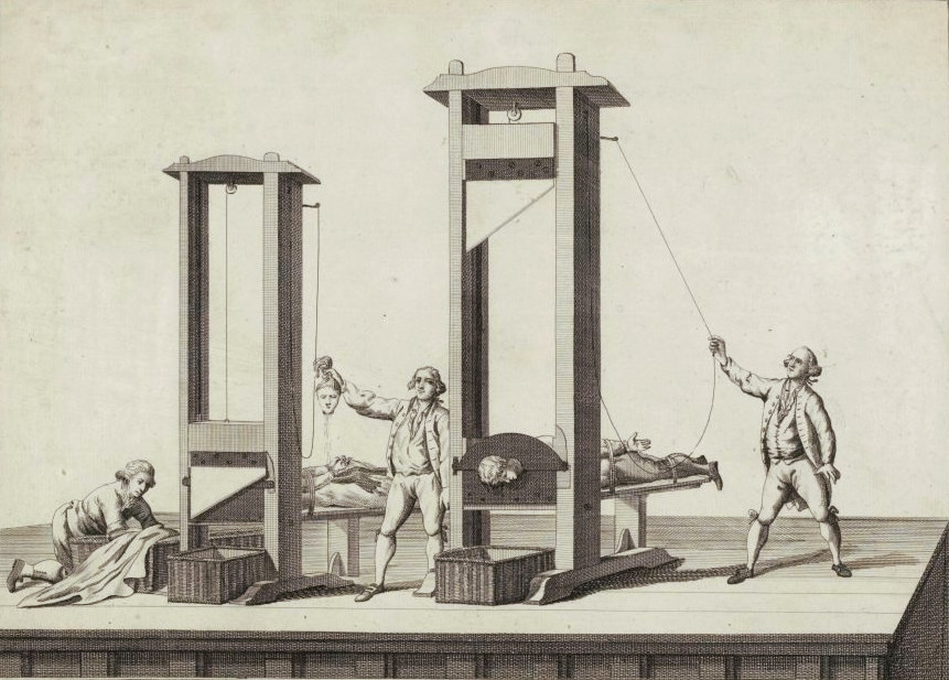 It was in 1977 that the last person was guillotined in France.