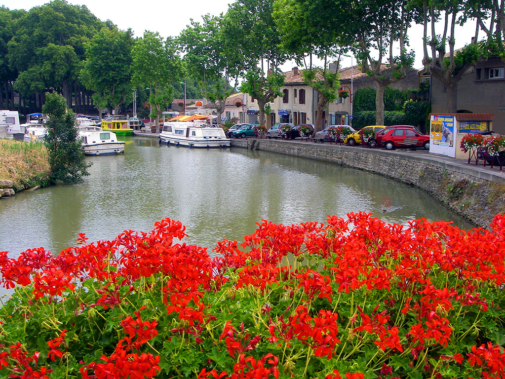 The Canal du Midi is the oldest canal still in use in Europe.