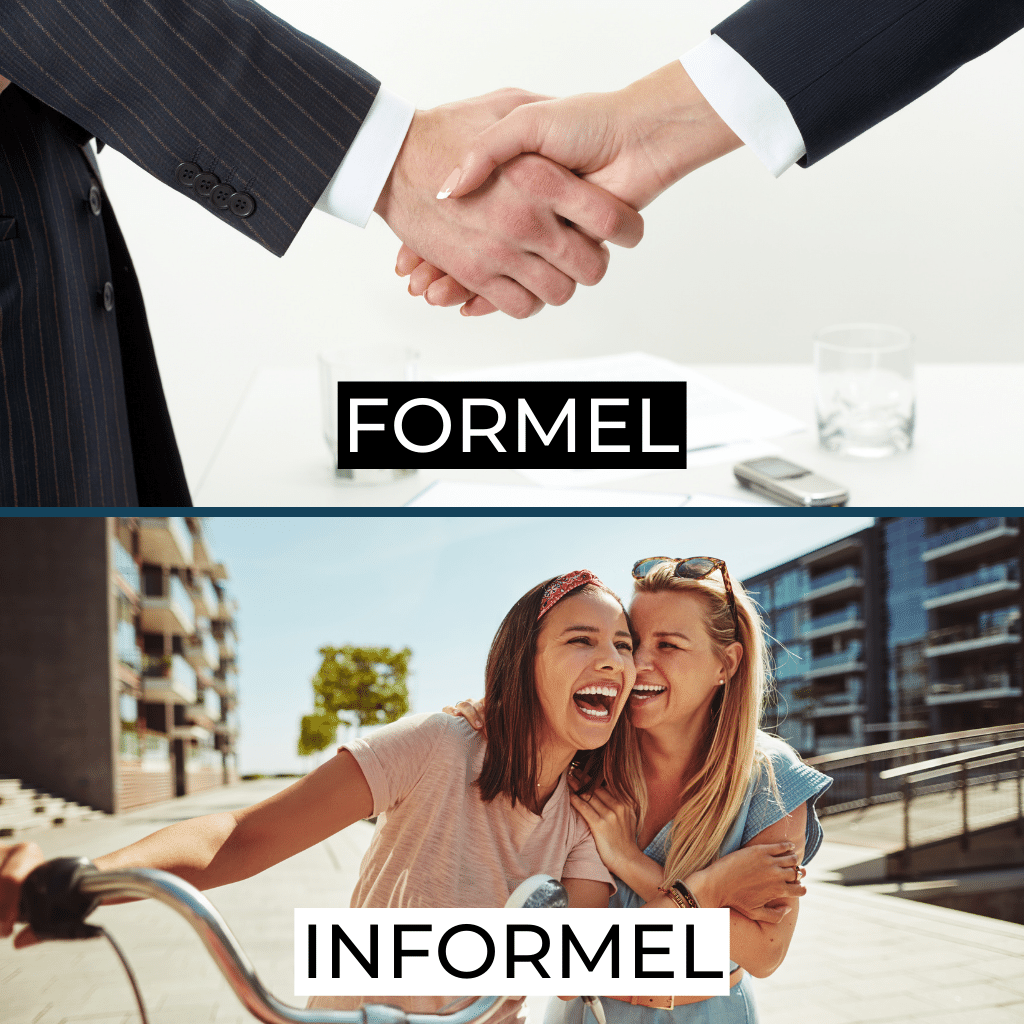 Formal or informal in French