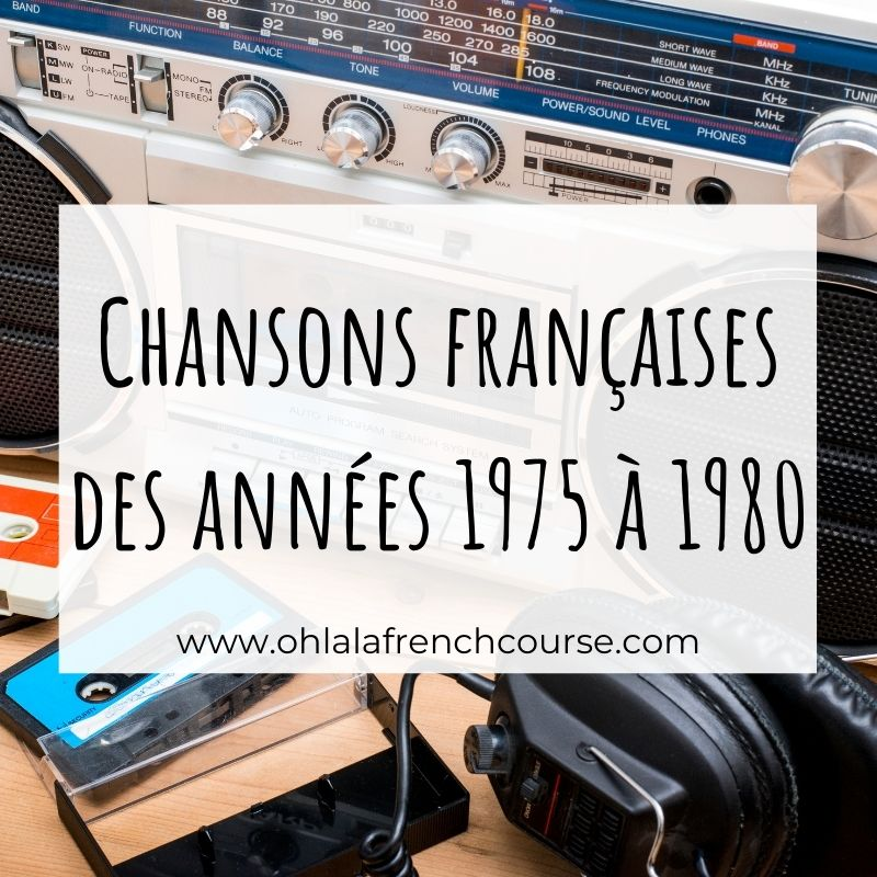 French songs from 1975 to 1980