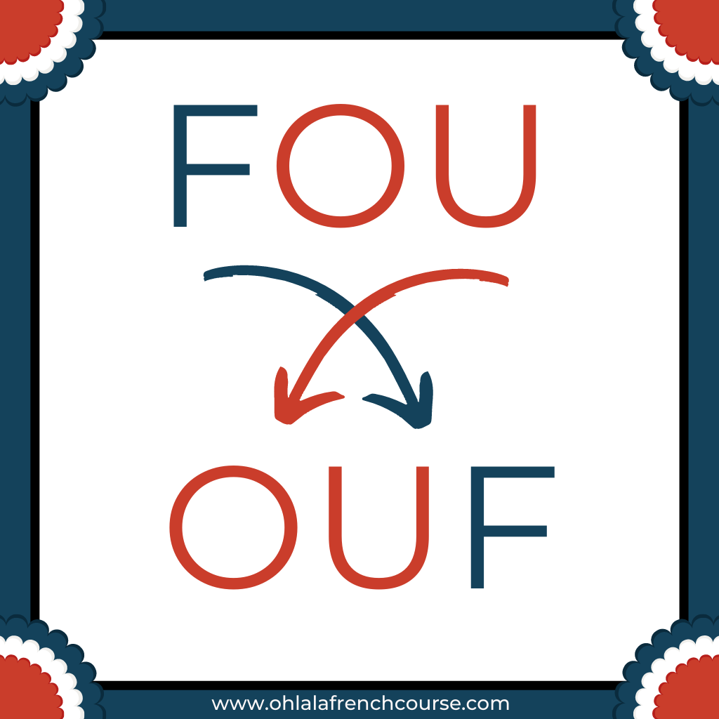 Verlan of fou = ouf