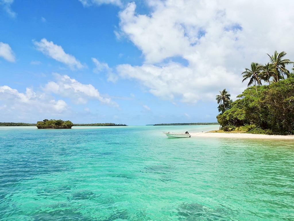 l'Île des Pins en Nouvelle-Calédonie