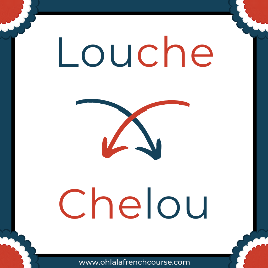 Chelou is the verlan of the word louche