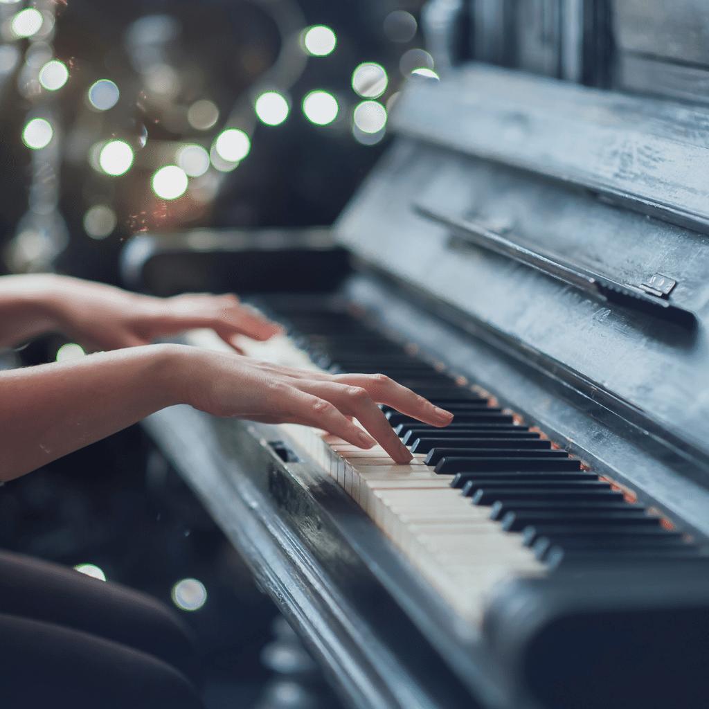 Si j'étais un instrument de musique, je serais un piano.