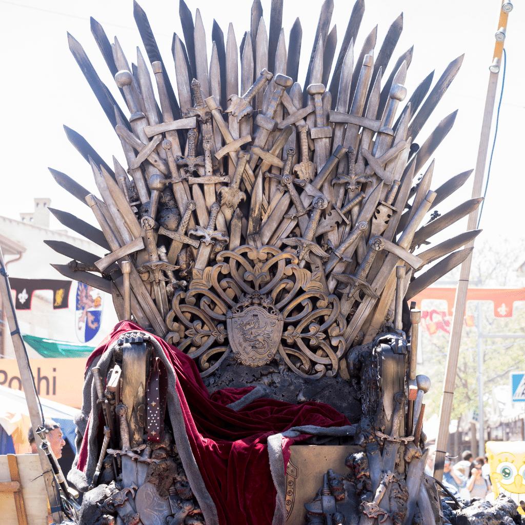 Si j'étais une série, je serais Game of Thrones.