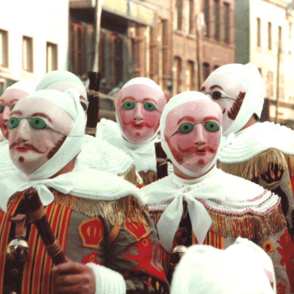 The carnival of Binche