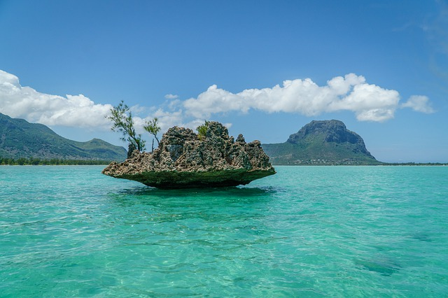 Photo du Cristal Rock à l'Île Maurice