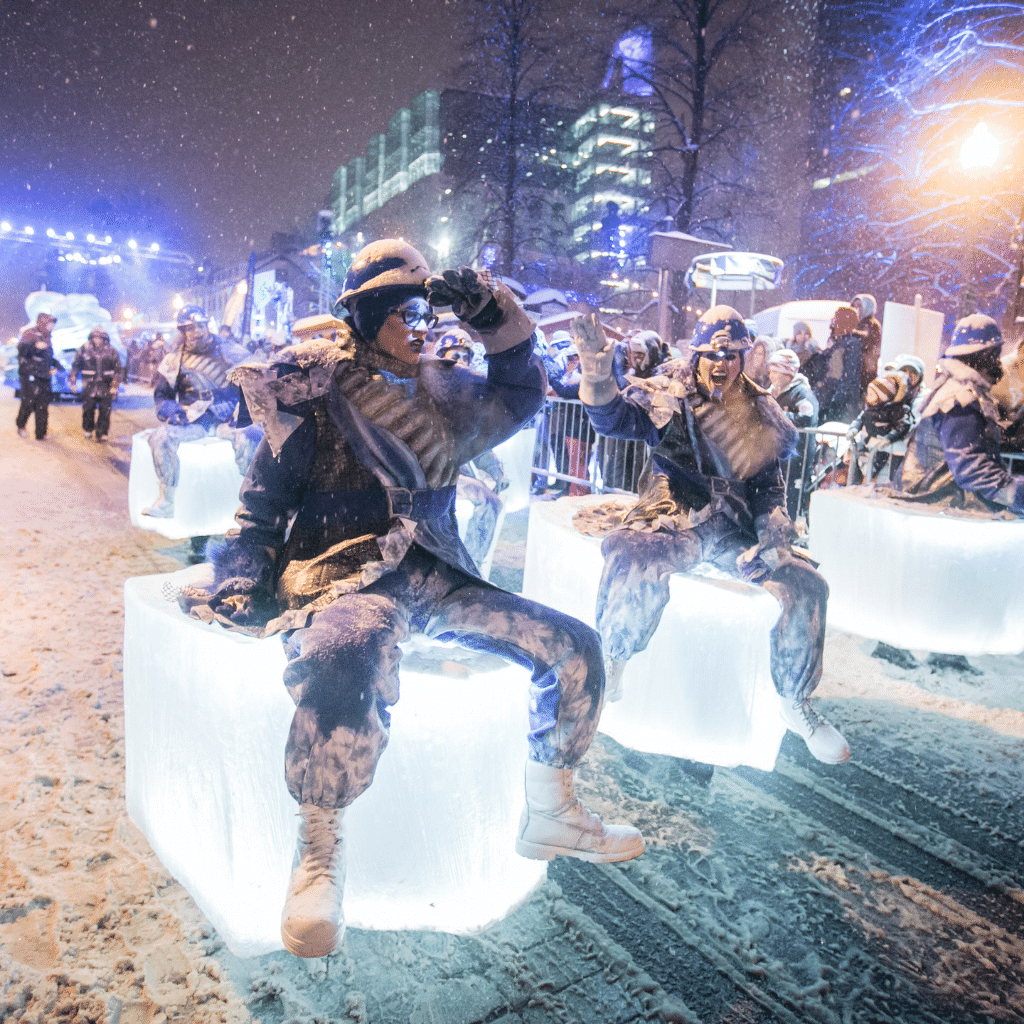 The Quebec Winter Carnival