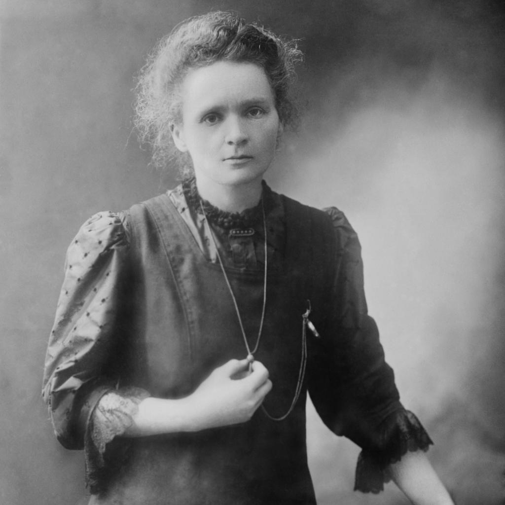 Polonium and radium - Marie Curie