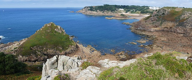 Photo de l'île de Jersey